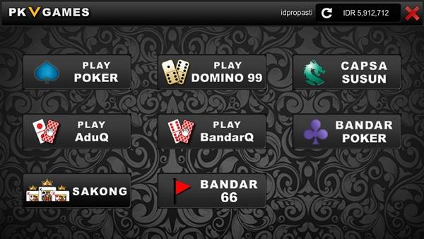 8 Permainan 1 User ID di Situs Pkv Games