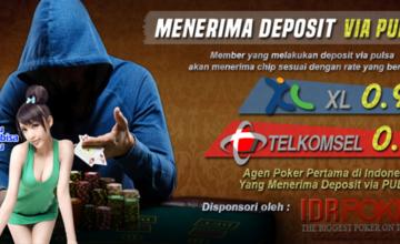 Situs Poker Deposit Pulsa Agen Pkv Games