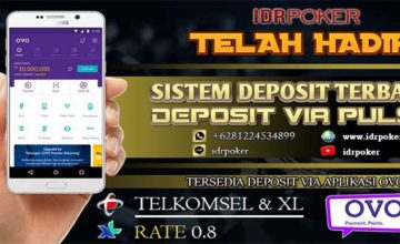 Cara Deposit Pakai OVO di Situs Poker Online Idrpoker